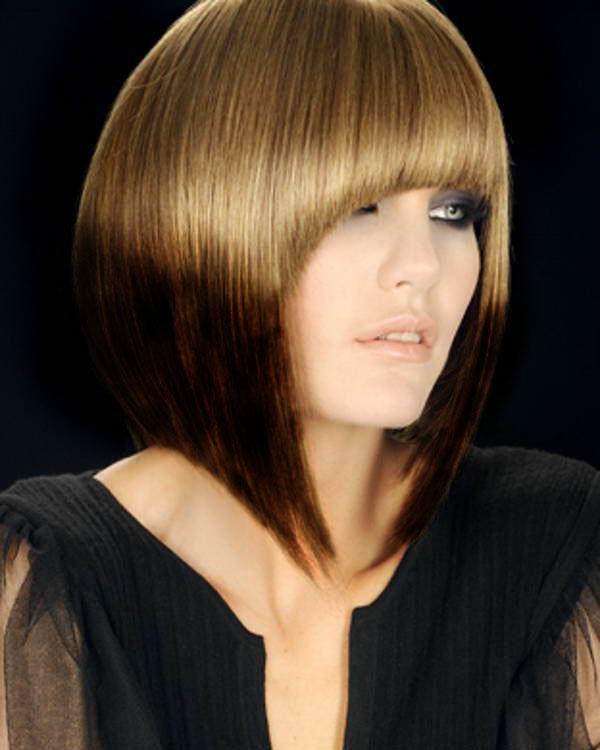 Черно белая покраска волос