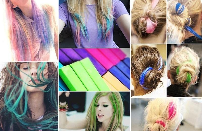 Как сделать чтобы у тебя светились волосы 740