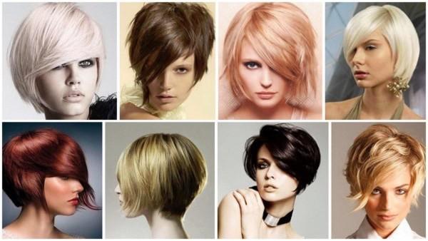 Оригинальные варианты стильного подстригания на нормальных и тонких локонах