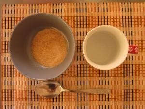 Основа смеси – вода и желатин