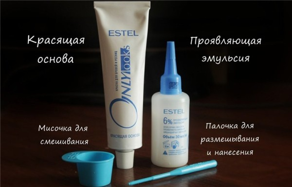 Перед тем как покрасить брови краской в домашних условиях, подготовьте необходимые инструменты и материалы