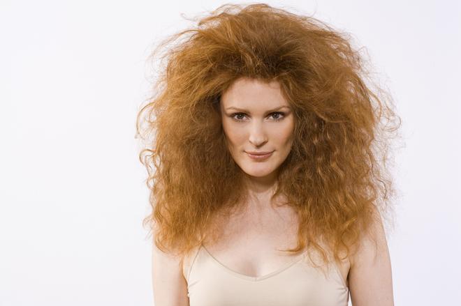 Как укладывать волосы средней длины пушистые
