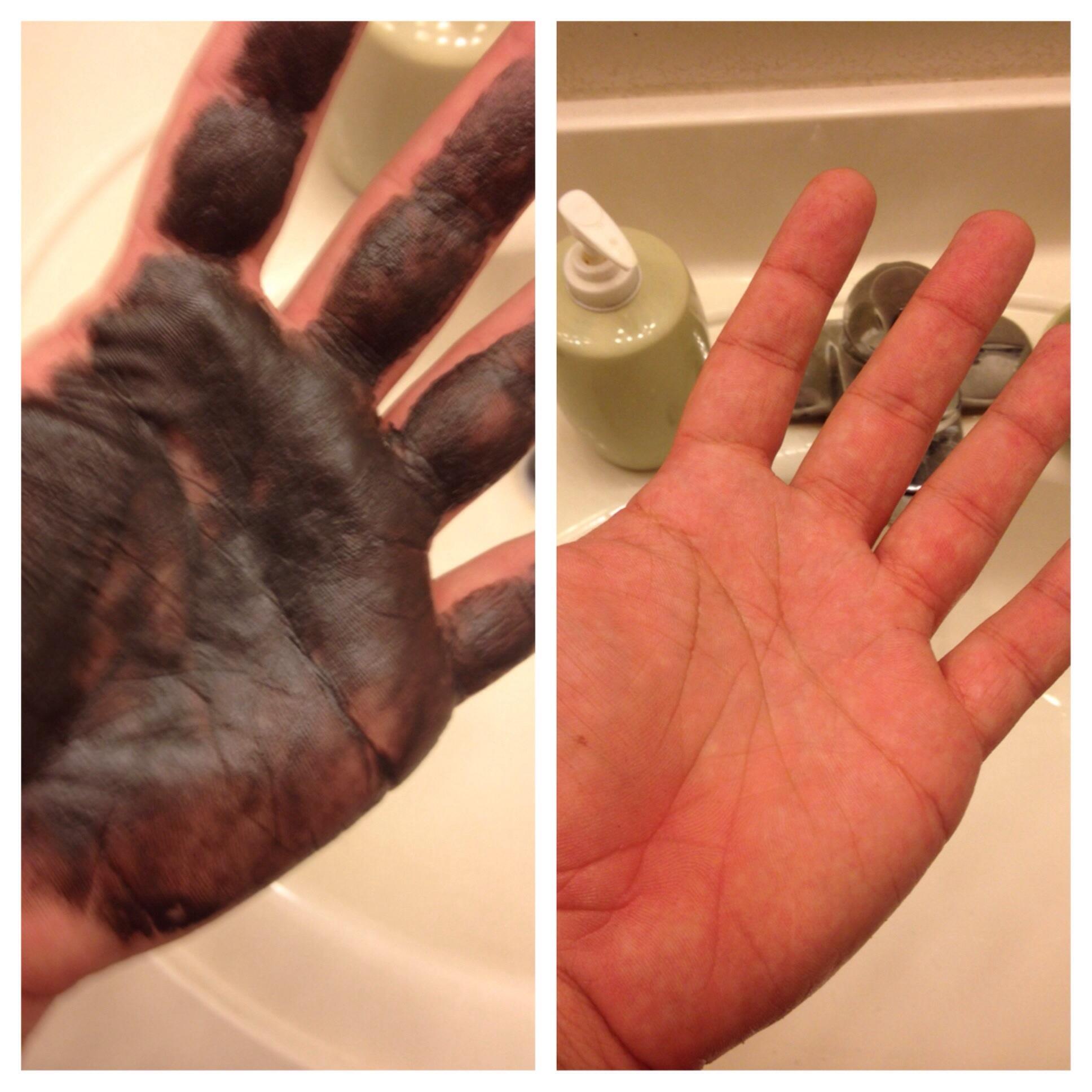 Чем отмыть от рук краску для волос