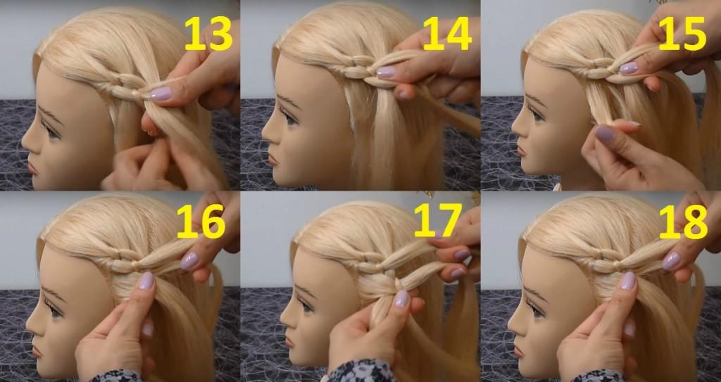 Видео как плести ребёнку косу