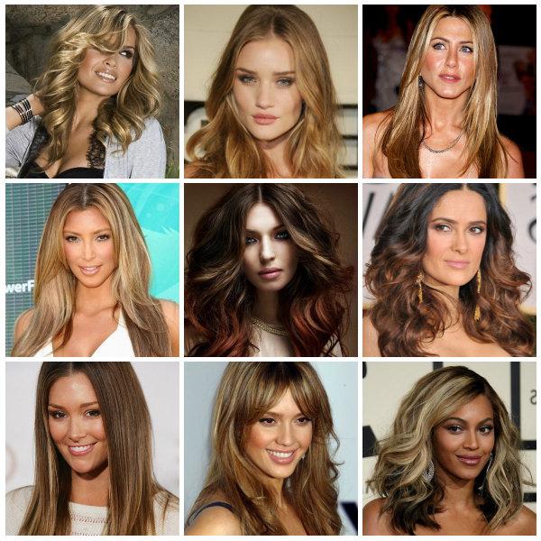 Подбираем макияж для мелированных волос с темным акцентом