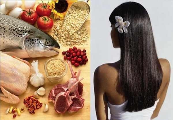 Полноценное питание – красота и здоровье прически!