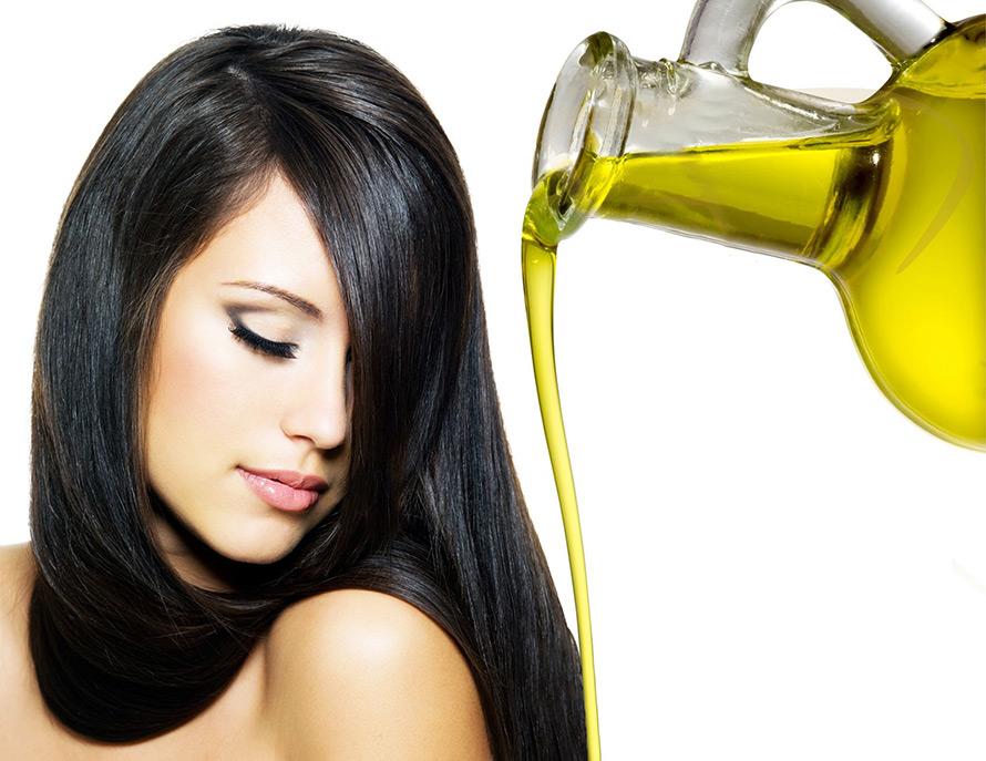 Как наносить масло на волосы