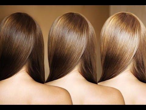 Покраска волос на два тона светлее