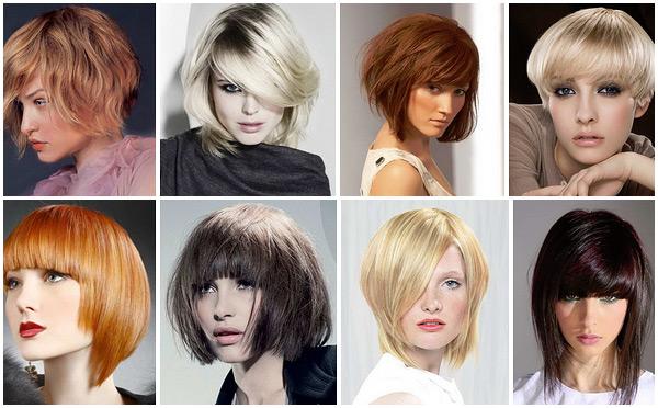 Правильно подобранная челка на тонкие волосы способна скрыть недостатки лица