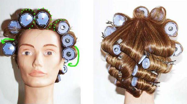 Бигуди для волос своими руками