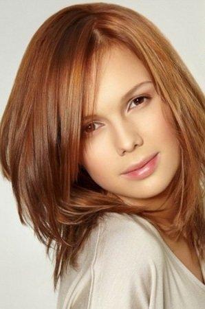 Карамельный цвет волос краска фото