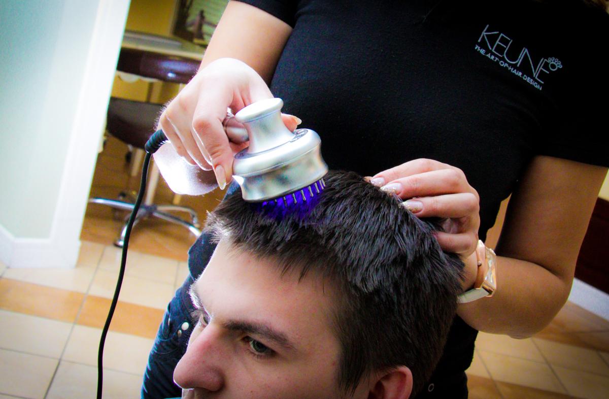 Лазерная расчёска для волос