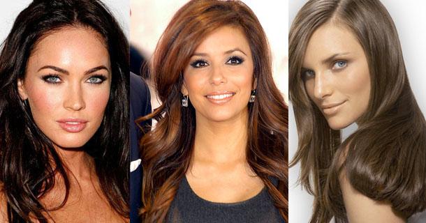 Как черный цвет волос перекрасить в коричневый