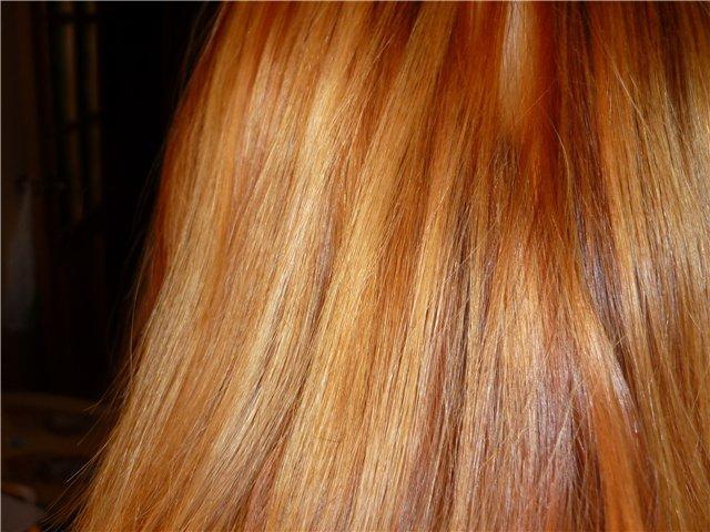 Убрать рыжий оттенок с волос