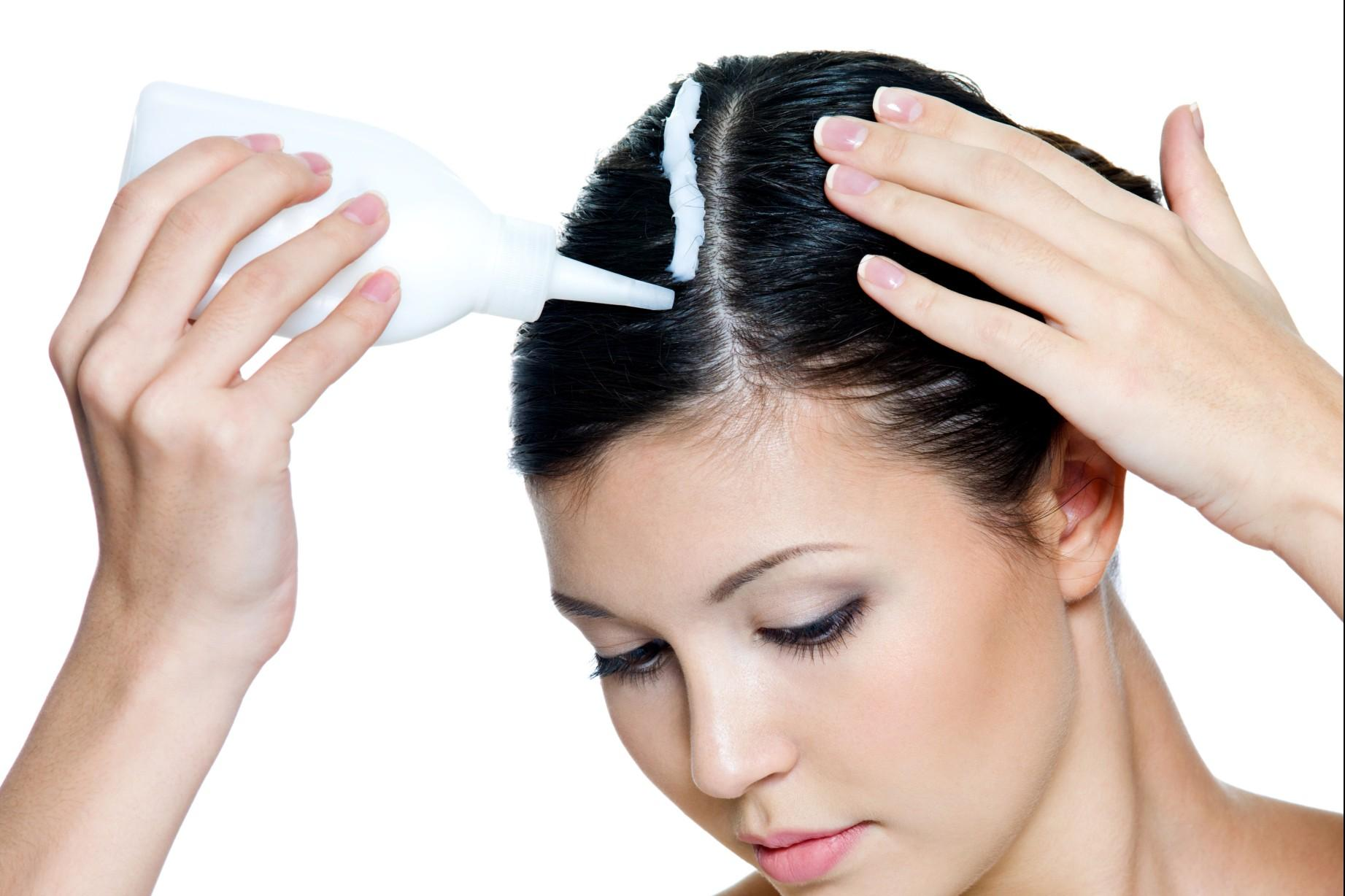 Как подкрашивать корни волос в домашних условиях