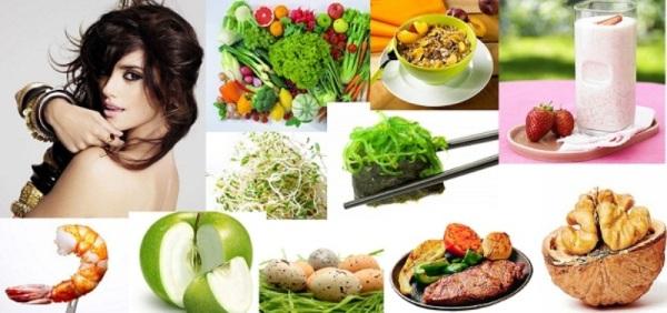 При жирной структуре прядок питание должно быть сбалансированным.