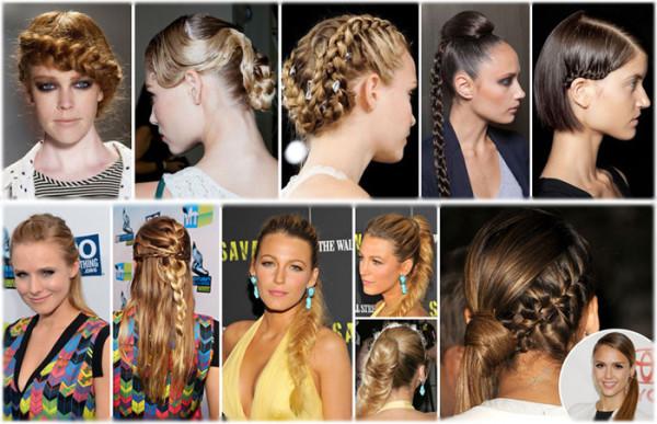 Прическа на средние волосы дома своими руками: ее можно создать, ориентируясь на советы модных стилистов, которые в этом сезоне делают акцент на различные плетения