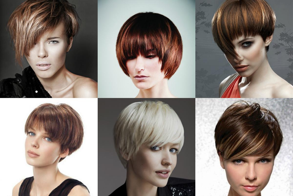 Все виды женских стрижек на короткие волосы