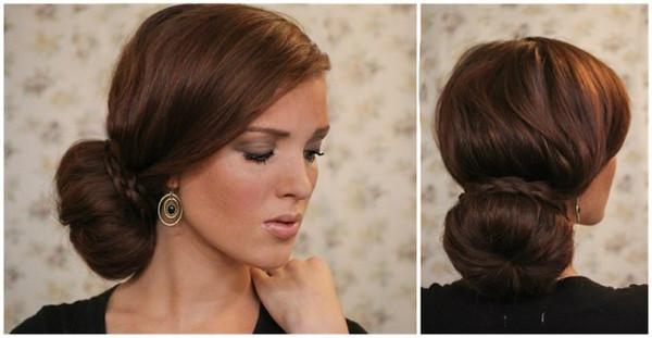 Прическа в виде шишки может расположиться на любой части головы - выбирайте «свой» идеальный образ
