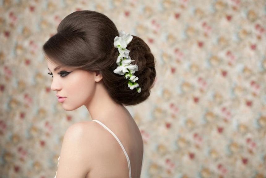 фото модные свадебные прически длъ иммы