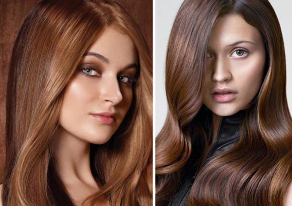 фото шоколадный цвет волос оттенки