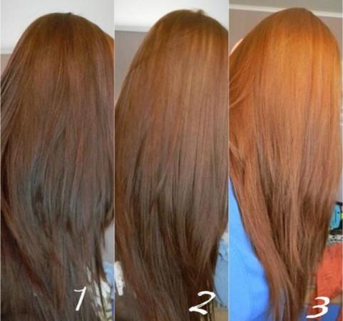 как вывести черный цвет волос в карамельный