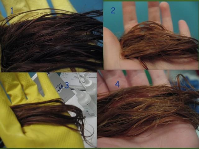 Как в домашних условиях вывести краску с волос