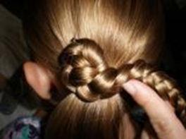 Проворачивайте косу вокруг оси