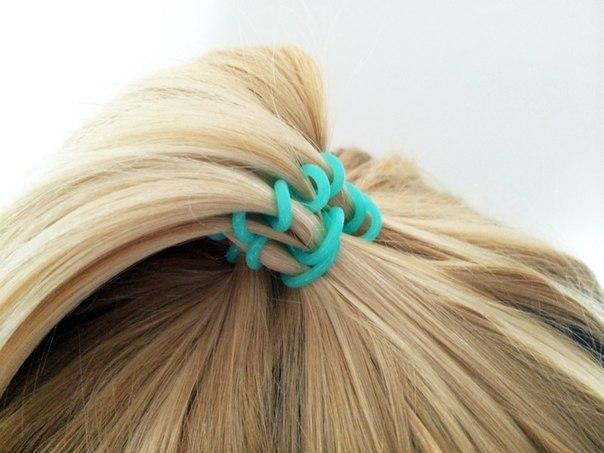 Резинка для волос локоны