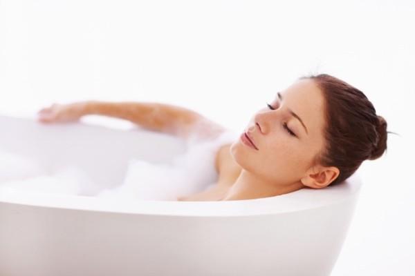 Распаривание в ванной