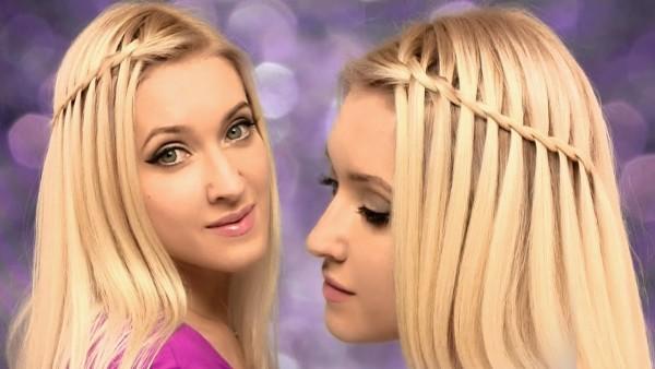 Распущенные волосы с косой сбоку – один из самых простых вариантов, к которому можно прибегнуть в любой ситуации
