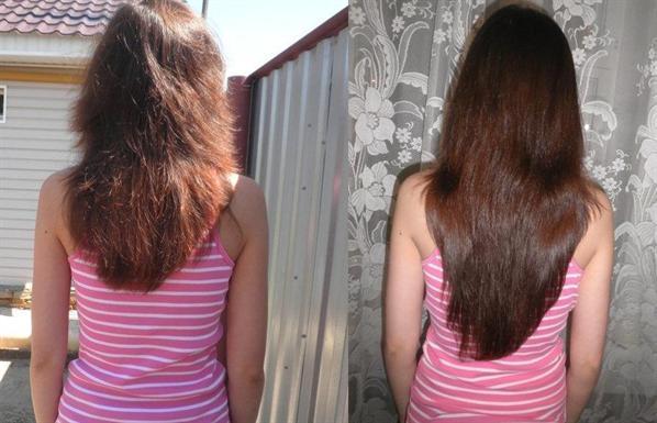Народные средства для блеска и густоты волос
