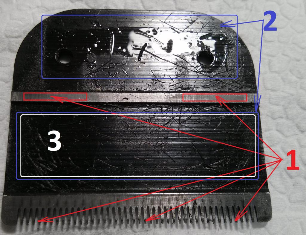 Чем смазать ножи машинки для стрижки