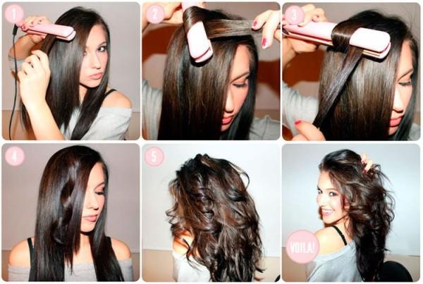 Решили орудовать утюжком или плойкой - чтобы долго держались кудри, выполняйте укладку на сухие чистые волосы