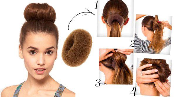 Резинка для шишки из волос