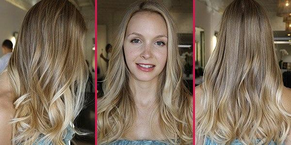 мелирование легкое фото на русые волосы