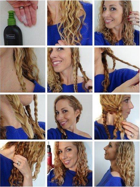 Как сделать волнистые волосы с помощью косичек 708