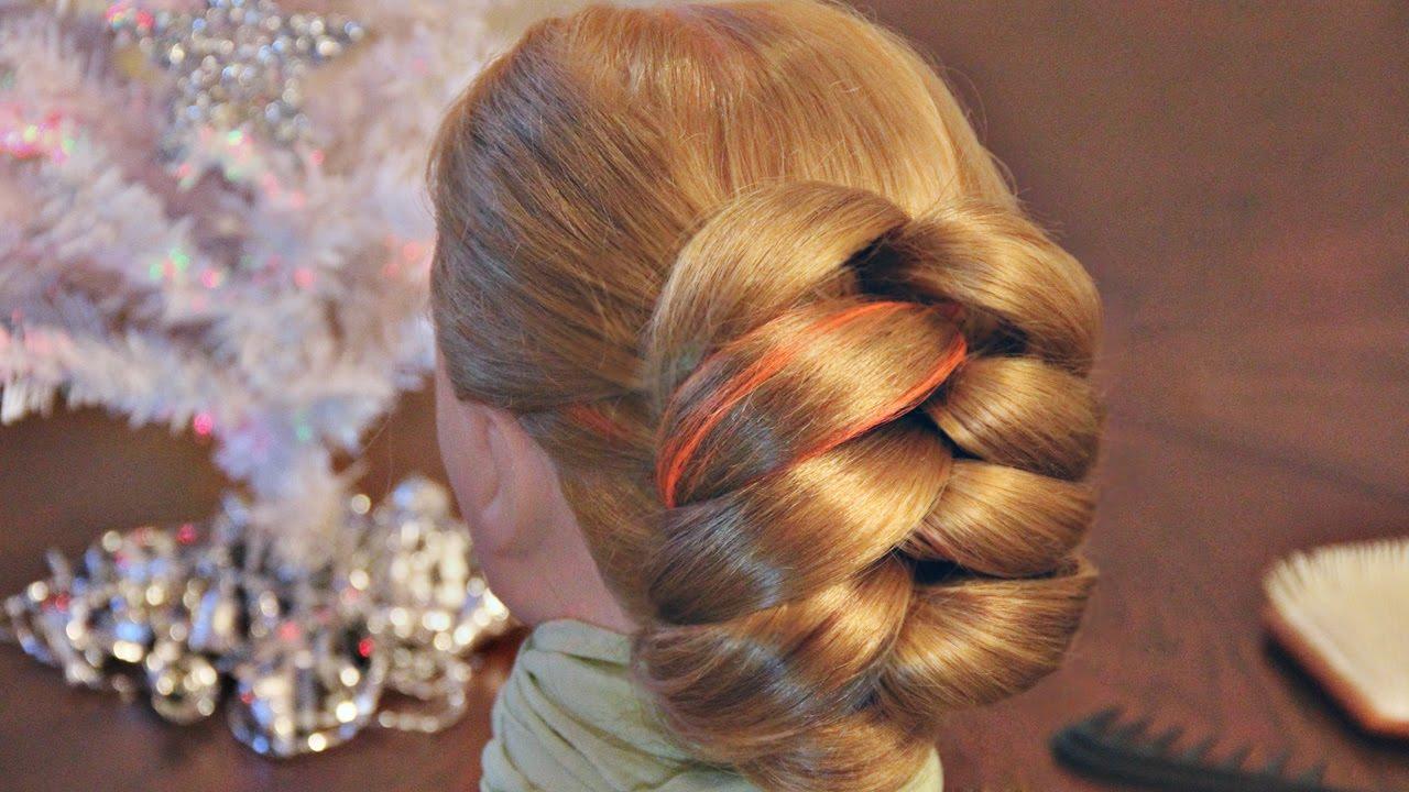 Причёски на средние волосы на основе хвоста