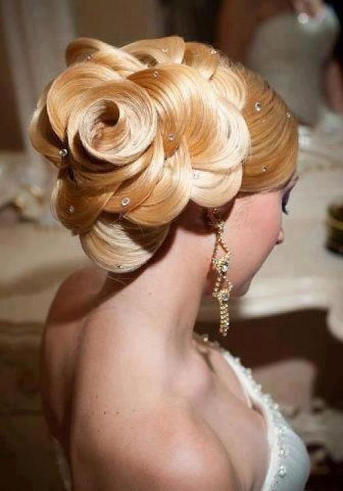 Цветы из волос пошаговая инструкция