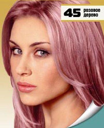 Краска с розовым оттенком для волос