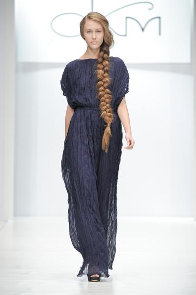 Русская коса – модно и романтично