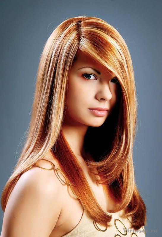 фото мелирование на карамельный цвет волос
