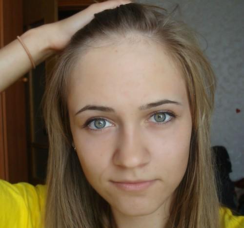 Причёски для девушек с большим лбом