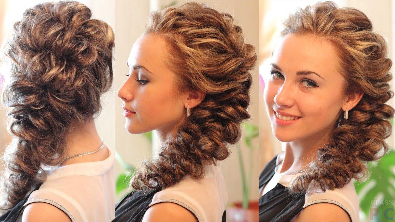 Быстрые прически из кос для длинных волос