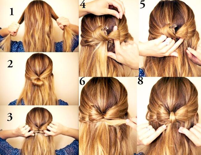 средняя химия на длинные волосы