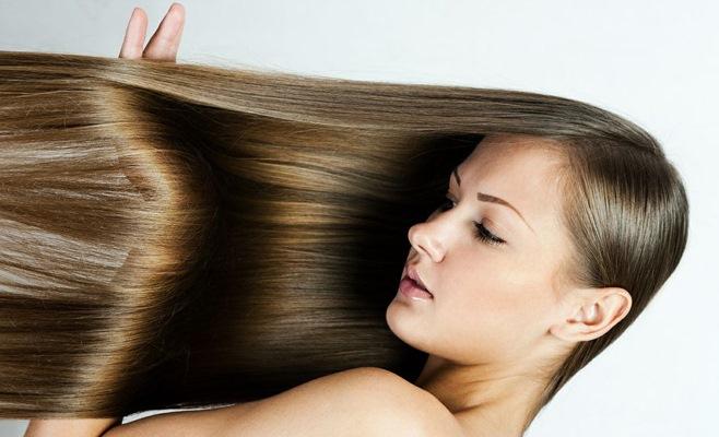 Выпрямляю волосы