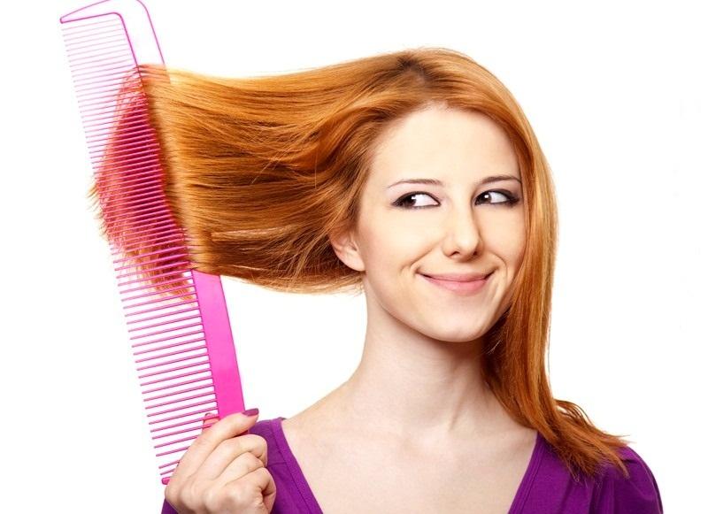 Норма выпадения волос густых
