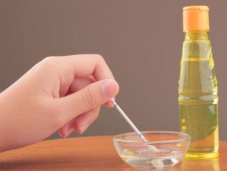 Смешивайте масла непосредственно перед применением