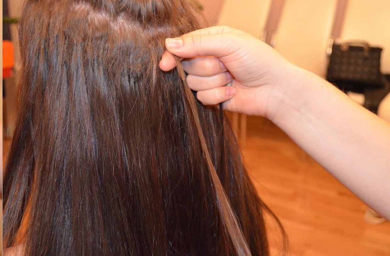 Наращенные волосы сильно выпадают