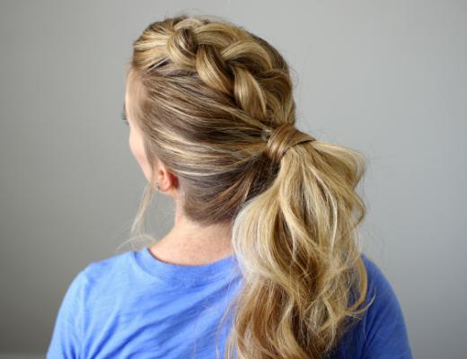 Сочетание хвоста и косы по праву можно считать ультрамодным вариантом причёски, на которую определённо стоит обратить внимание в 2016 году